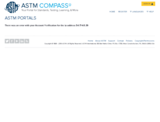journalsip.astm.org screenshot
