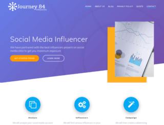 journey84.com screenshot