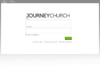 journeychurch.onthecity.org screenshot