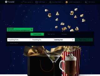 journeyplanner.translink.co.uk screenshot