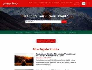 journeywoman.com screenshot