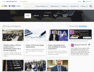 jovemexecutivo.blog.br screenshot