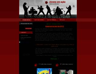 jovens-emacao.webnode.com.br screenshot