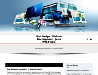 joviawebstudio.com screenshot