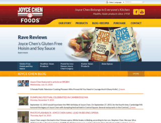 joycechenfoods.com screenshot