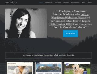 joycegrace.ca screenshot