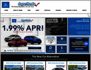 joycehonda.com screenshot
