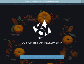 joychurch.com screenshot