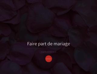 joyeuxmariage.fr screenshot
