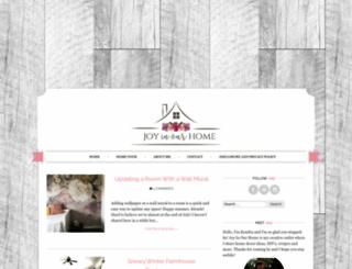 joyinourhome.com screenshot