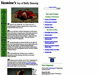 joyofbellydancing.com screenshot