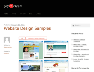 joyofcreate.com screenshot
