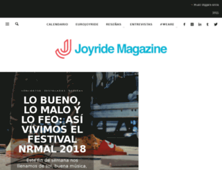 joyridemx.com screenshot