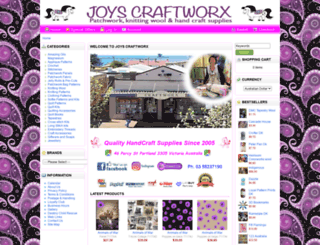 joyscraftworx.com.au screenshot