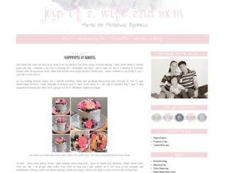 joysofawifeandmom.com screenshot