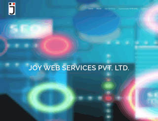 joywebservices.com screenshot