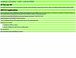 jpsaos.com screenshot