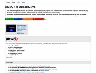 jquery-file-upload.appspot.com screenshot