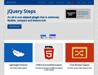 jquery-steps.com screenshot