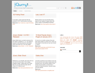 jquery1.com screenshot