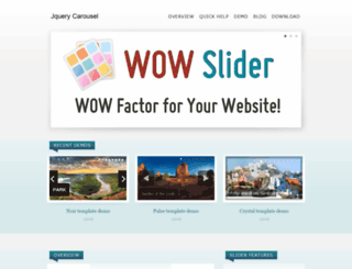 jquerycarousel.com screenshot