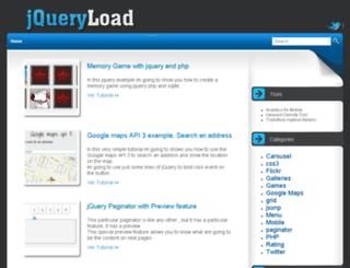 jqueryload.com screenshot