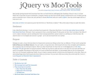 jqueryvsmootools.com screenshot