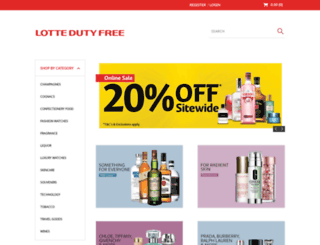 jrdutyfree.com.au screenshot