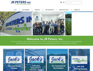 jrpeters.com screenshot