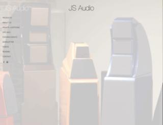 jsaudio.com screenshot