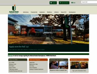 jscc.edu screenshot