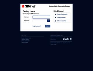 jscc.simnetonline.com screenshot