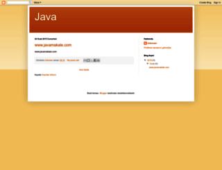 jsf-tr.blogspot.com screenshot