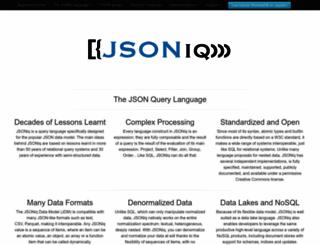 jsoniq.org screenshot