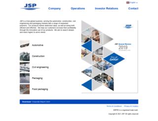 jsp.com screenshot