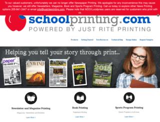 jsprinting.com screenshot