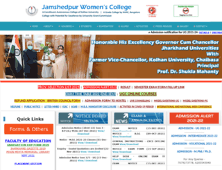 jsrwomenscollege.ac.in screenshot