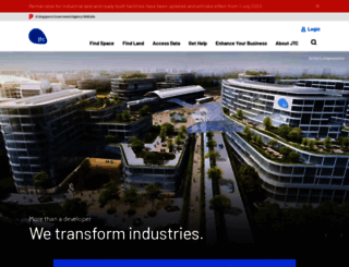 jtc.gov.sg screenshot