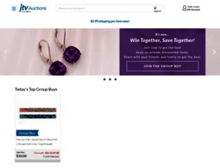 jtvauctions.com screenshot