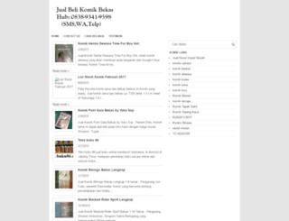 jualkomik.nakulastore.com screenshot