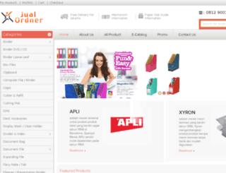 jualordner.com screenshot