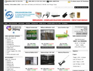 jualwavecom.com screenshot