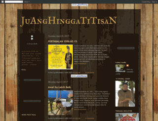 juanghinggatitisan.blogspot.com screenshot