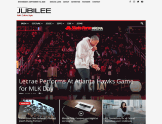jubileemag.com screenshot
