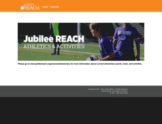jubileereach.bonzidev.com screenshot