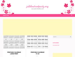 jubileestreetparty.org screenshot