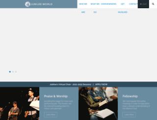 jubileeworld.org screenshot