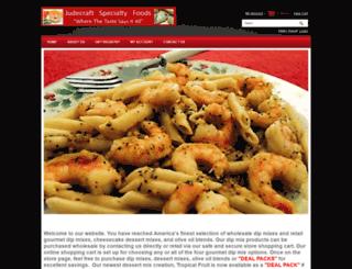 judecraftspecialtyfoods.com screenshot