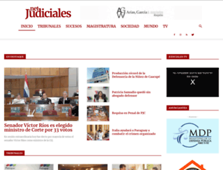 judiciales.net screenshot