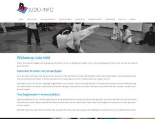 judo-info.nl screenshot